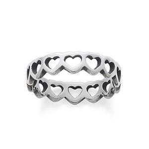 James Avery Tiny Hearts Band Ring